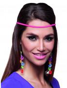 Vous aimerez aussi : Boucles d'oreilles peace multicolore adulte