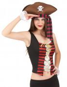 Vous aimerez aussi : Corset et manchettes pirates femme