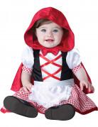 Déguisement mini chaperon rouge pour bébé - Classique
