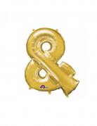 Vous aimerez aussi : Ballon aluminium symbole & doré 35 cm