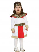 Déguisement égyptienne blanche bébé