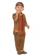 Déguisement indien à franges marron bébé
