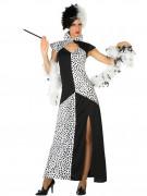 Déguisement robe dalmatien femme