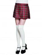 Kilt écossais rouge femme