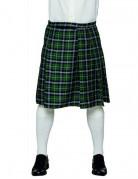Kilt écossais vert homme