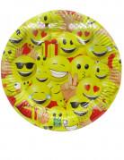 10 Assiettes en carton 23 cm Emoji™