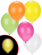 5 Ballons LED summer party Illooms ®