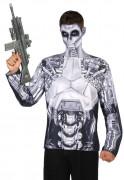T-shirt robot homme