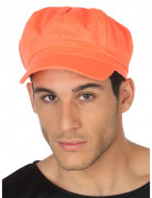 Casquette orange fluo adulte