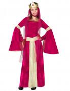 Vous aimerez aussi : Déguisement reine médiévale rouge rose et or fille