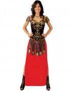 Déguisement robe longue guerrière femme
