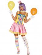 D�guisement clown pastel femme