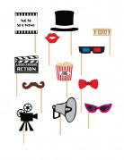 Vous aimerez aussi : Kit photobooth cinéma 12 pièces