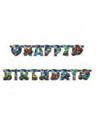 Guirlande Happy Birthday Blaze et les Monster Machines™ 182 cm