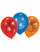 6 Ballons latex Blaze et les Monster Machines™