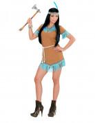 Vous aimerez aussi : Déguisement petite indienne marron et bleue femme