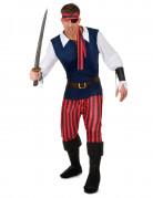 Vous aimerez aussi : Déguisement Pirate rayures rouges et noires homme