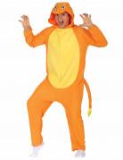 Déguisement petit rongeur orange adulte
