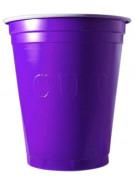 20 Gobelets 53cl violet