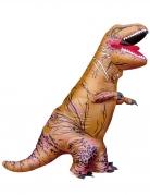 Déguisement T-rex gonflable adulte