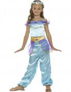 Déguisement princesse arabe bleue fille