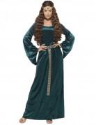 Vous aimerez aussi : Déguisement reine médiévale verte femme