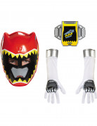 Kit Power Rangers™ Dinocharge rouge enfant