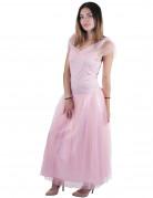 Déguisement princesse romantique rose femme