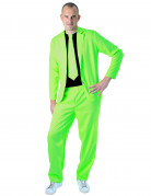 Costume fashion vert fluo adulte