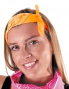 Bandana orange fluo adulte