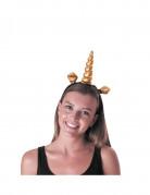 Vous aimerez aussi : Serre-tête licorne doré adulte