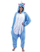 Vous aimerez aussi : Déguisement combinaison licorne bleue adulte