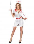 Déguisement infirmière zipper Sexy Femme
