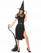 Déguisement Sorcière Sexy Noire Femme Halloween