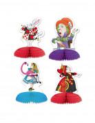 Vous aimerez aussi : 4 Mini centres de table Alice au pays imaginaire 13 x 9 cm