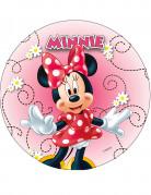Disque en azyme Minnie™ modèle aléatoire 20 cm