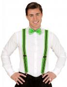 Vous aimerez aussi : Bretelles à fronces vertes fluo adulte