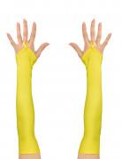 Vous aimerez aussi : Mitaines longues jaunes fluo femme