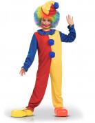 D�guisement clown bicolore enfant