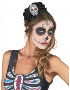 Vous aimerez aussi : Serre tête Crâne Multicolore Dia De Los Muertos adulte
