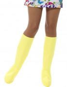 Couvre-bottes jaunes femme