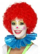Collerette clown bleue adulte