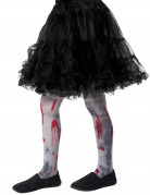 Collants ensanglantés zombie enfant Halloween