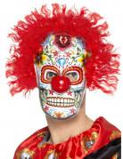 Masque clown adulte Dia de los muertos
