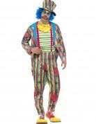 Déguisement clown patchwork homme
