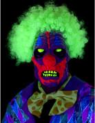 Masque clown effet UV adulte