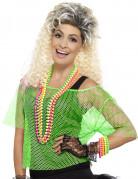 Vous aimerez aussi : T-shirt court résille vert années 80 femme