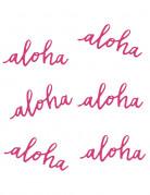 Vous aimerez aussi : 6 Décorations de table Aloha 12,5 cm