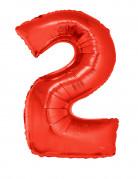 Vous aimerez aussi : Ballon aluminium géant chiffre 2 rouge 102 cm
