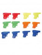 12 Mini pistolets à eau 6 cm